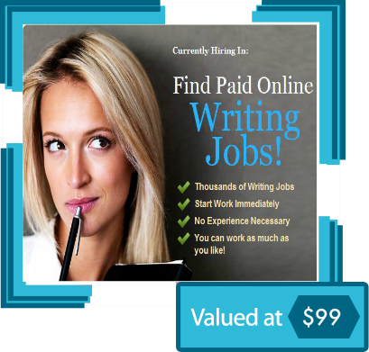 online writing career